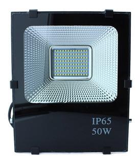 Reflector Led 50w 24v Cd Para Proyectos De Panel Solar