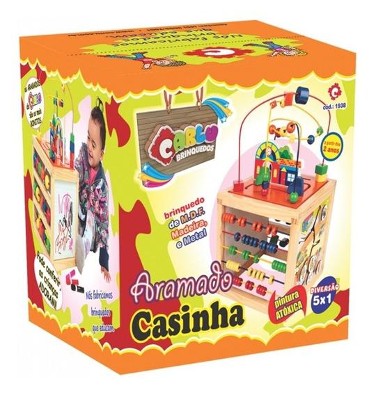 Brinquedo Pedagógico Aramado Casinha Carlu 1938