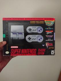 Console Super Nintendo Classic Edition + 80 Jogos