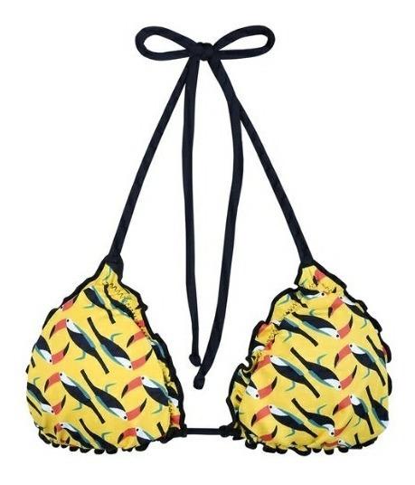 Sutiã De Biquini Tropical Plus Size Tam 46 *dupla Face 2x1 *