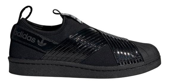Zapatillas adidas Originals Superstar Slip On Neg De Mujer