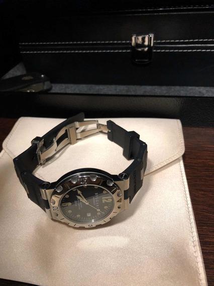 Relógio Bvlgari Diagono Scuba Sd38s