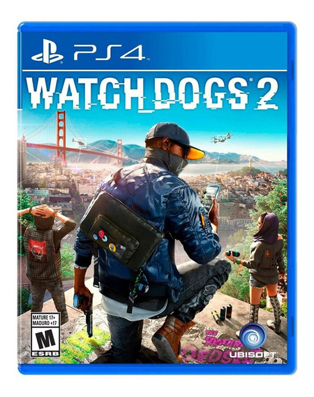 Juego Ps4 Watch Dogs 2 En Español - G0006006