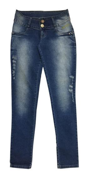 Calça Jeans Feminina Hieros - Tamanho 36 Desconto Brechó