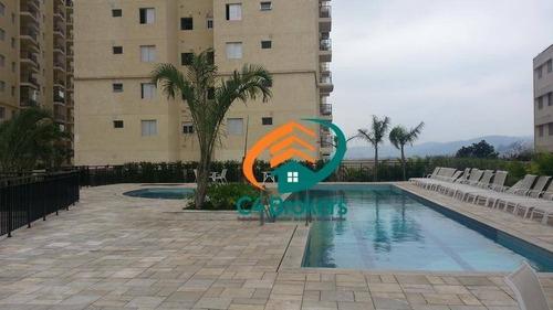 Imagem 1 de 24 de Apartamento Com 3 Dormitórios À Venda, 76 M² Por R$ 480.000,00 - Picanco - Guarulhos/sp - Ap3879