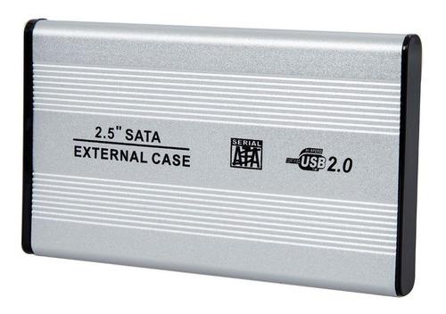 Gabinete Carcasa Case Disco Duro 2.5 Laptop Sata Usb 2.0
