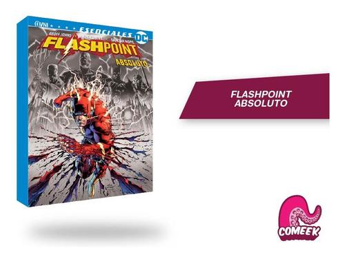 Imagen 1 de 2 de Comic Flashpoint Absoluto Más Extras Español Latino