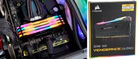 Memória Corsair Vengeance Rgb Pro 4x8gb 3200mhz Frete Grátis