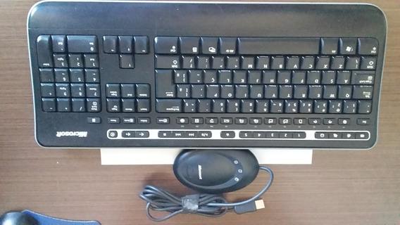 Teclado Microsoft Wireless Keyboard 1000
