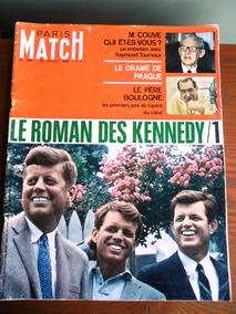 Revista Paris Match - Os Kennedy, Barbra Streisand
