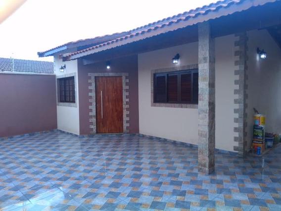 Casa Com 3 Dormitórios À Venda, 125 M² Por R$ 390.000 - Balneário Gaivota - Itanhaém/sp - Ca0790