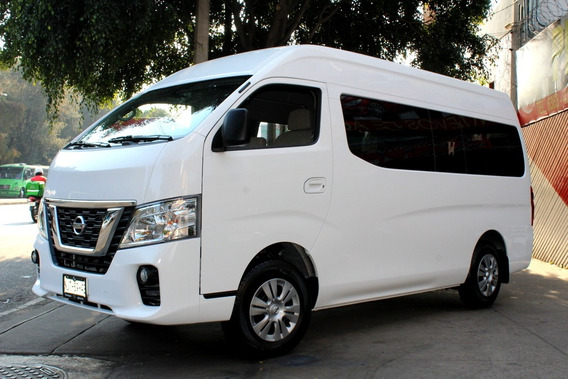Nissan //urvan 12 Pasajeros// 2019 Como Nueva!! Dvd, 1 Dueño