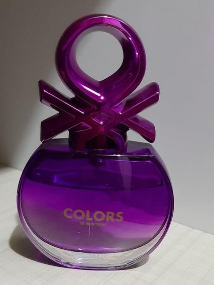 Colors Purple Benetton Edt - Perfume Feminino 80ml Lacrado