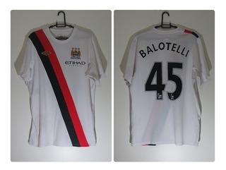 Camisa Manchester City #45 Balotelli