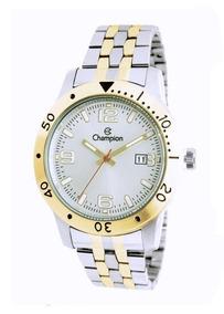 Relógio Champion Masculino Ca31391b Bicolor