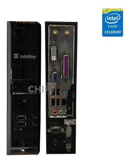 Mini Pc Itautec Infoway Intel Atom, 2gb Ddr3, Hd 320gb