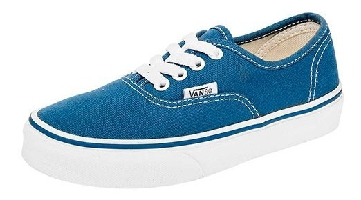 Tenis Vans Uy Authentic Azul Tallas De #16 A #21 Niño