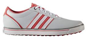 Zapatos Golf adidas Adicross V Mujer Grises/blancas/rosas