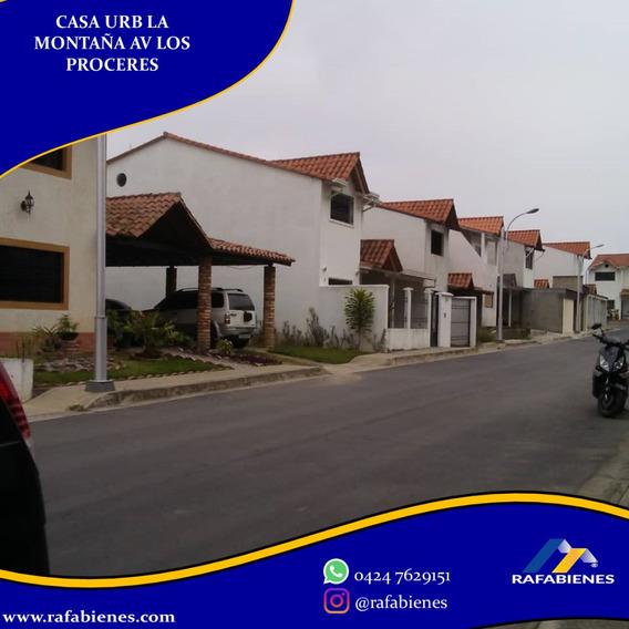 Casa Quinta Urbanización La Montaña Av Los Próceres Merida.