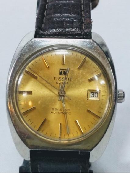 Antigo Relógio Pulso Suíço, Tissot sea Star, Masculino