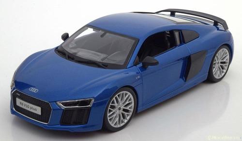 Auto Audi R8 V10 Plus Escala 1:18 - Maisto