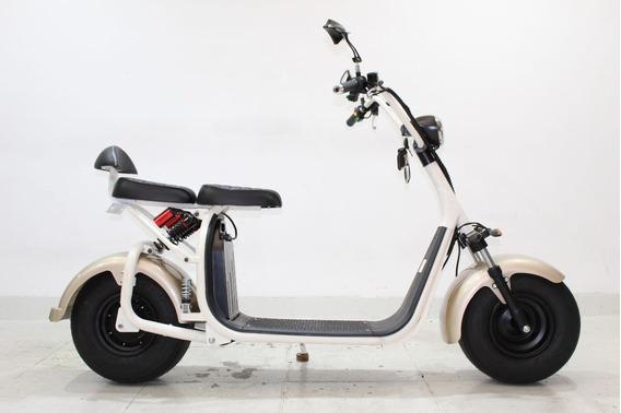 Moto Elétrica Scooter Gloov S2 2019 Bege 0 Km