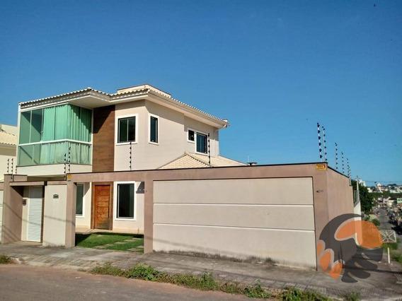 Belíssima Casa A Venda Por R$ 595.000 - Itapebussu - Guarapari/es - Ca0461