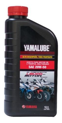 Imagen 1 de 1 de Aceite Yamalube 4 Tiempos 20w-50 946ml
