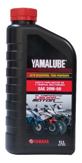 Aceite Yamalube 4 Tiempos 20w-50 946ml