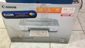 Impressora Canon Pixma Mg2410 Usada Com Defeito