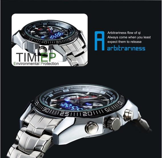 Tvg Relógio Led Seals Esportivo Luxo Frete Gratis.
