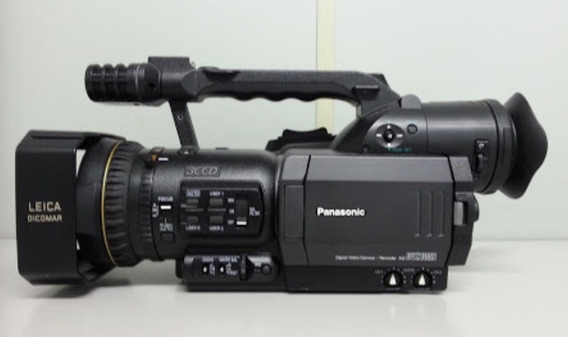 Filmadora Panasonic Ag-dvx 100b + Case + 2 Baterias + Led