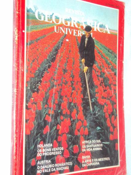 Revista Geográfica Universal Janeiro 1983 (sebo Amigo)