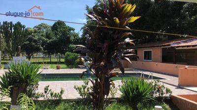 Chácara Com 4 Dormitórios Para Alugar, 5000 M² Por R$ 4.000/mês - Urbanova - São José Dos Campos/sp - Ch0005
