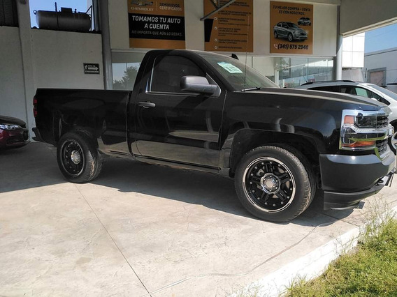 Chevrolet Silverado 2017 Color Negro