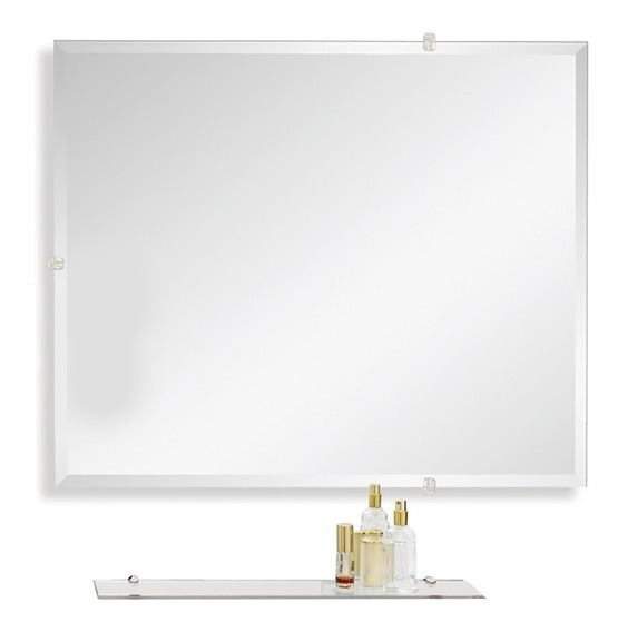 Espejo Baño Colgante Biselado 60x50 Envio Gratis Reflejar