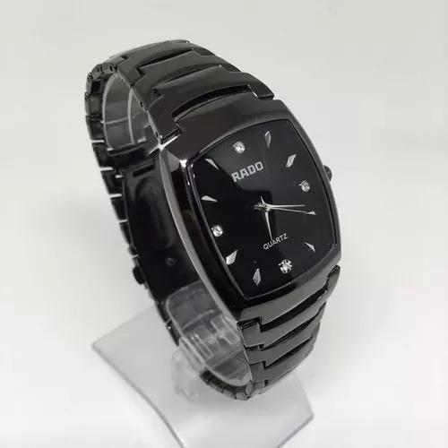 Relógio Feminino Quadrado Preto Luxo - Promoção!!!