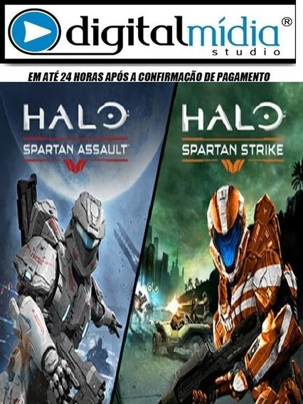 Halo Spartan Assault E Halo Spartan Strike Pc Envio Digital