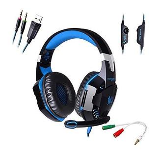 Afunta G2000 Stereo Auriculares Para Juegos Para Ps4 Pc Con