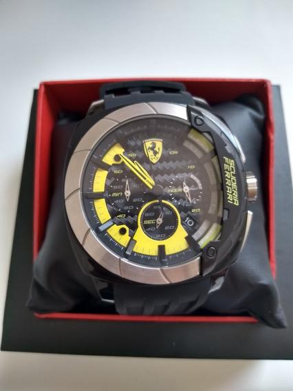 Relógio Masculino Ferrari Original (novo)