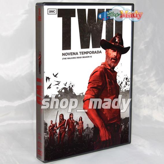 The Walking Dead Temporada 9 Dvd Doblada Al Español