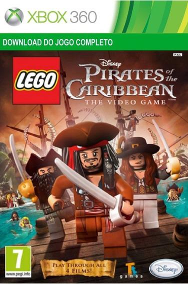 Jogo Infantil Lego Piratas Do Caribe Xbox 360 Digital