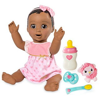 Spinmaster Luvabella - Cabello Castano Oscuro - Baby Doll Re