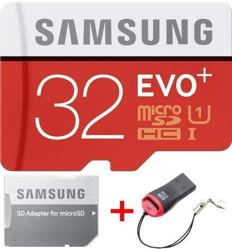 Cartão Samsung Micro Sdxc Evo Plus+ 32gb 95mb/s Uhs-1 Sd