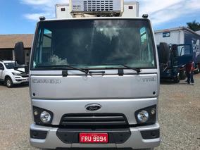 Ford Cargo 1119 Baú Camara Fria Gancheira