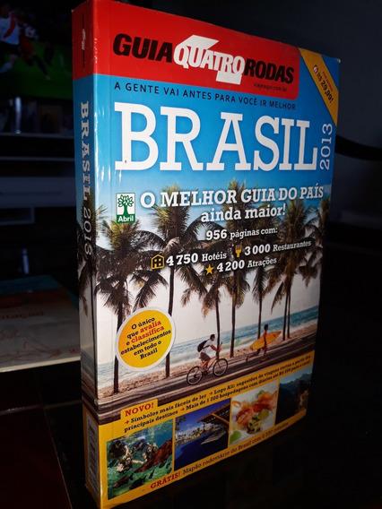 Guia Quatro 4 Rodas Brasil 2013 Mais Mapa Rodoviario Gratis