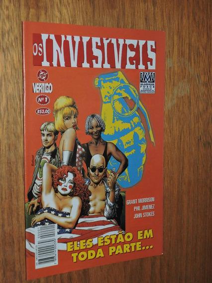 Os Invisíveis - Vertigo Grant Morrison N 01
