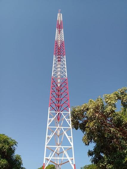 Torre Autoportante 24 Metros Internet Rádio