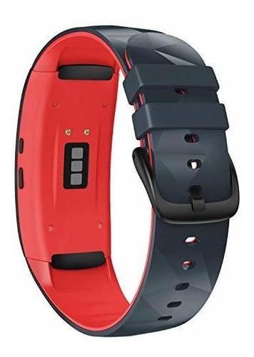 Imagen 1 de 7 de Notocity Compatible Con Samsung Gear Fit2 Pro Band Banda De