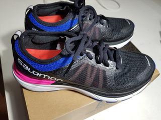 Zapatillas Salomon Mujer De Running , Igual A Nuevo. Uk 6